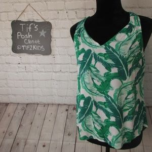 Old Navy Tops - Old Navy Botanical Print Tank Top Sz XS E71